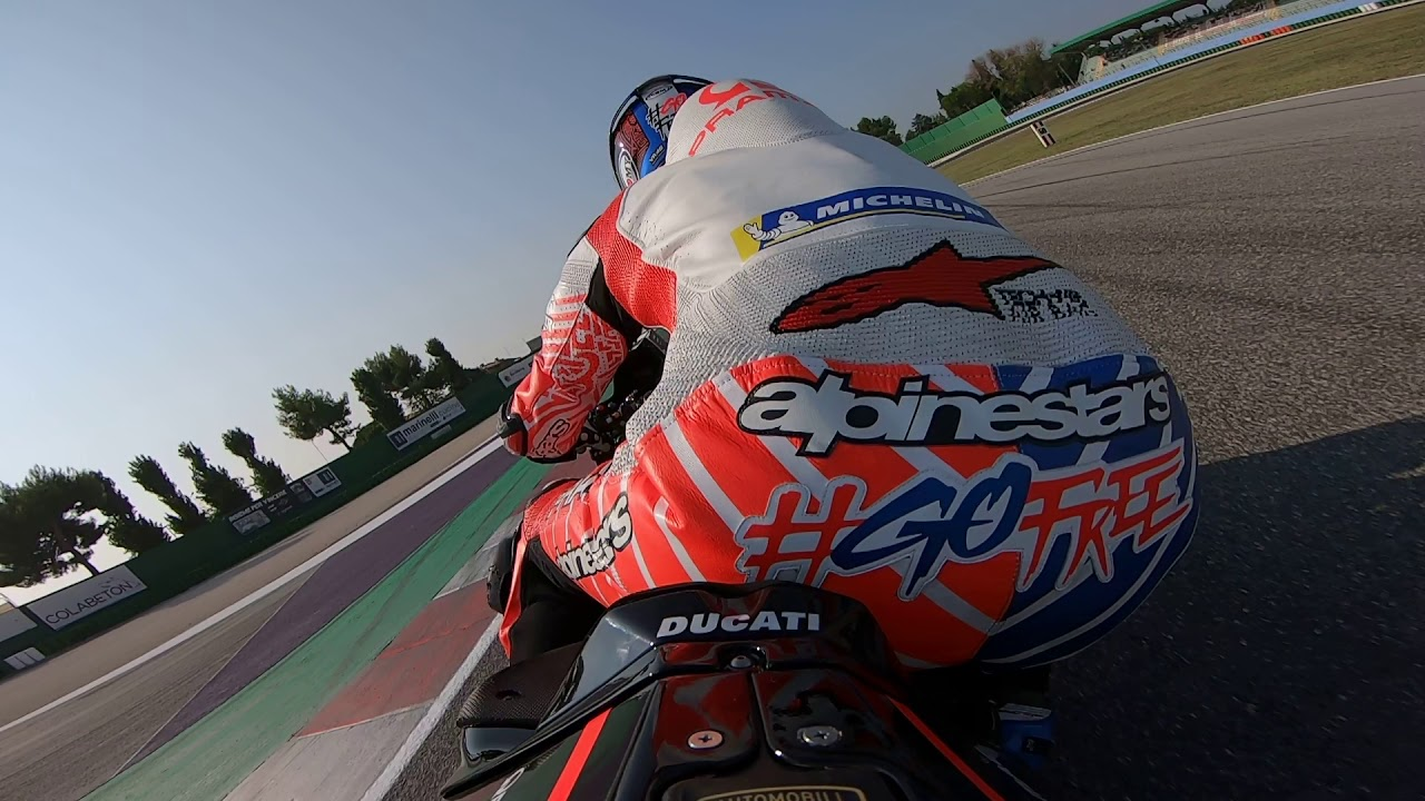 Let's jump on board for a few laps at Misano.