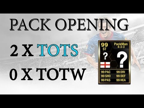 FIFA 13 Ultimate Team - PACK OPENING - 2 MORE BLUE CARDS?!