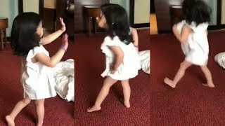 Ms Dhoni Daughter Ziva Dhoni Dance Video