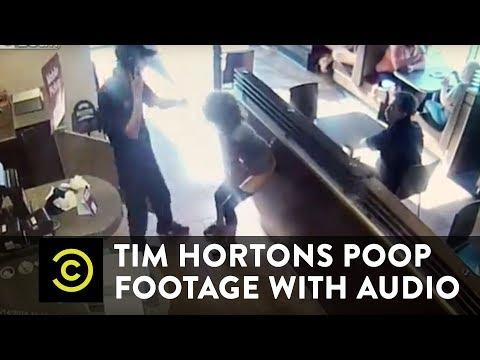 Tim Hortons Poop Footage WITH AUDIO