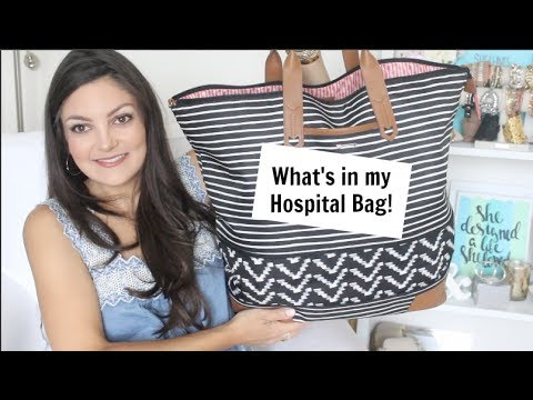 What's in my Hospital Bag for Baby #2!