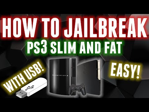 HOW TO JAILBREAK PS3 SLIM OR FAT WITH USB! (EASY & SAFEST METHOD) 2018