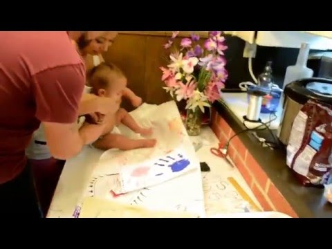 Baby Painted Hand Prints