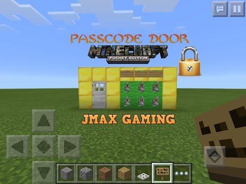 PASSCODE DOOR MCPE