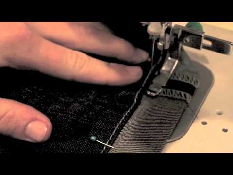How to Hem Jeans with Leaving the Original Hem