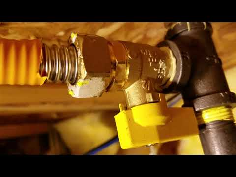 GAS FIREPLACE EASY INSTALL (How to run your gas line!)