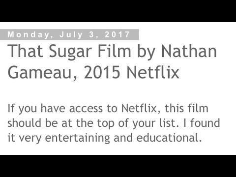 That Sugar Film *Edited* Part 4 of 4
