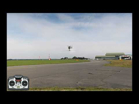 Learning inverted hovering - RC heli flight school v1.1