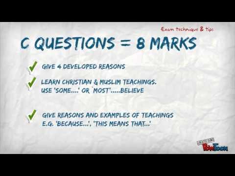 GCSE Religious Studies Edexcel Exam Tips