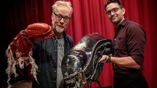 Adam Savage Tours North Bergen High School's Alien: The Play Artifacts!