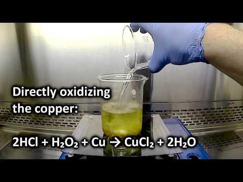 Make Copper Chloride PCB Etchant