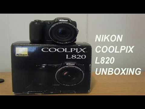 Nikon Coolpix L820 Unboxing