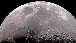 Moon in High Resolution through Telescope