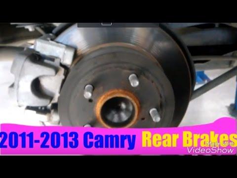 2011-2013 Camry Rear Brakes