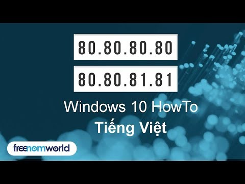 Freenom World Windows 10 HowTo (Tiếng Việt)