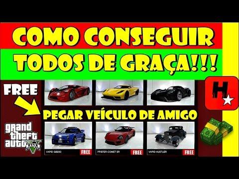 Como Pegar Qualquer CARRO de GRAÇA no GTA 5 Online (GIVE CAR TO FRIEND) Money Glitch Free Car GTA