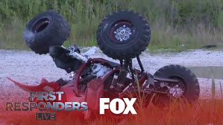 Out Of Control ATV Driver Gets Hit Badly | Season 1 Ep. 1 | FIRST RESPONDERS LIVE