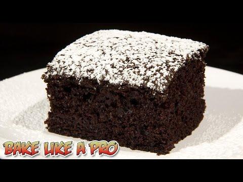 VEGAN Chocolate Cake Recipe - DAIRY FREE Chocolate Cake Recipe
