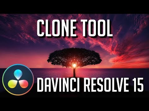 How to Use the Clone Tool | DaVinci Resolve 15 Tutorial