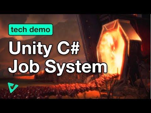 Optimizing Code using Unity's C# Job System (Tech Demo)