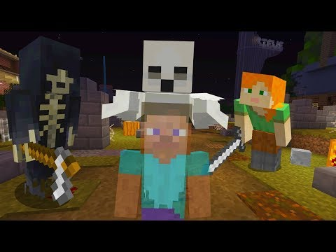 STEVE AND ALEX MINECRAFT - STEVE DIES AND TURNS INTO A GHOST