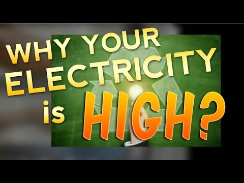 Average Electricity Bill - Why Is My Electric Bill So High?