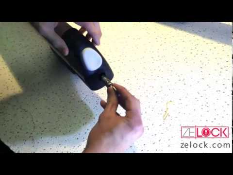 How To Install a Thule Lock Core into a Thule Ski Rack
