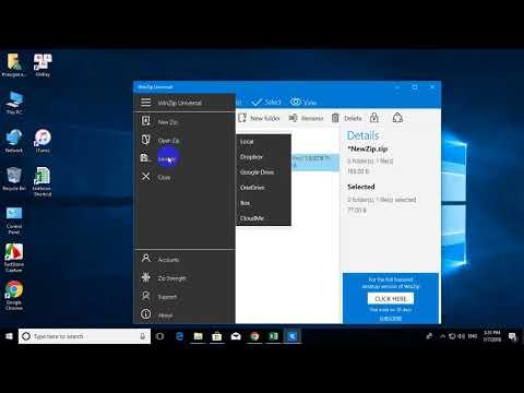 winzip universal windows 10