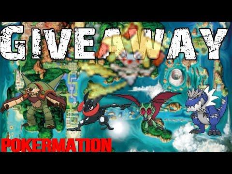 Pokémon Omega Ruby & Alpha Sapphire Shiny Giveaways With Max Ivs