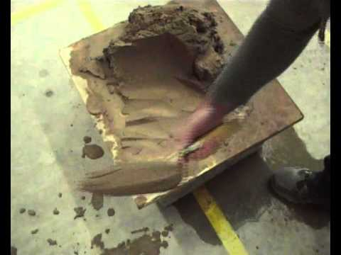 Basic Bricklaying skills How to Cut & Roll Mortar