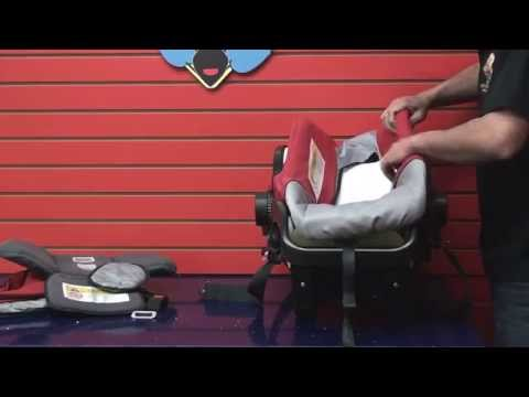 Britax Chaperone - Step by Step Cleaning Car Seat Tutorial - (Part 2) Reassemble Car Seat