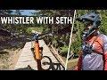 Shredding The Whistler Bike Park with Seth's Bike Hacks