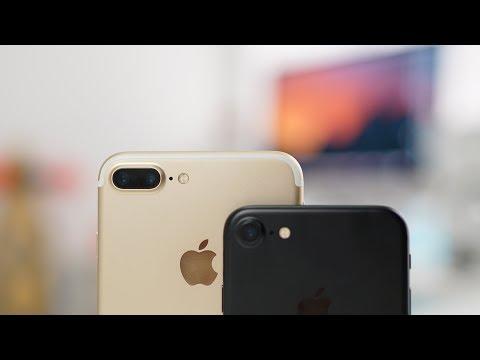 iPhone 7 Plus Review/Unboxing/Comparison
