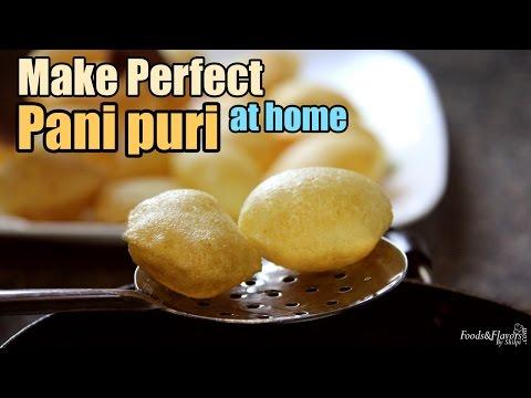 Pani puri recipe / Golgappa Puri Recipe / Golgappa / Panipuri Recipe - Indian Chaat recipes