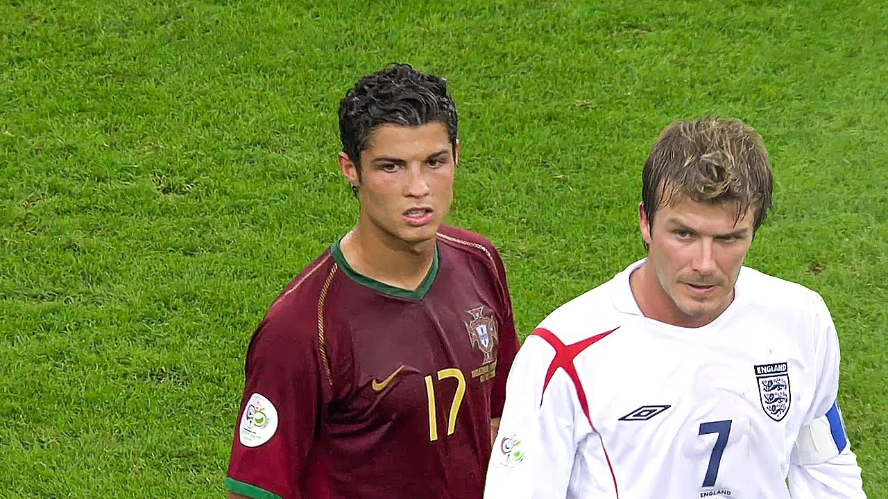 The Day Cristiano Ronaldo & David Beckham met