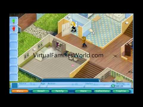How To Open the Shed in Virtual Families - Cheats and Walkthroughs