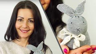 Diy Sock Bunny No Sew