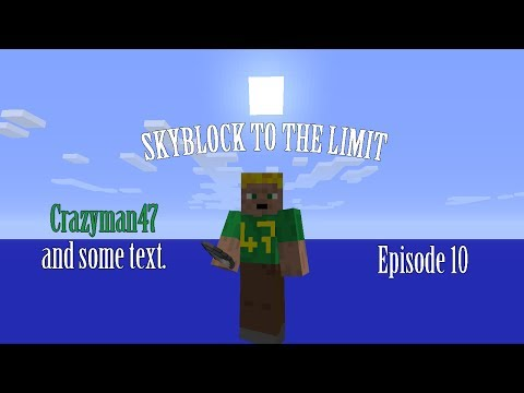 E10 - Witches, Withers and Fishing - Skyblock to the limit