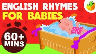 English Rhymes for Babies   60+ Mins Non Stop Compilation   Magicbox English Kids Channel
