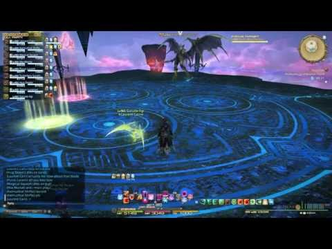 Second Coil of Bahamut Turn 4 Solo Heal/Tank(SMN PoV)