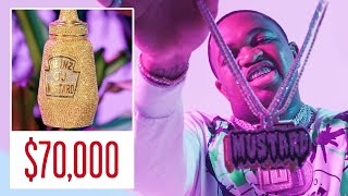 Mustard Shows Off His Insane Jewelry Collection   GQ
