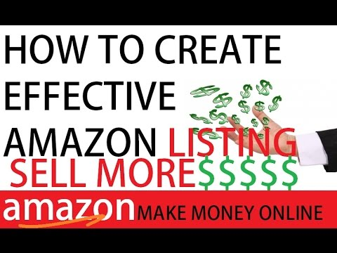 How To Optimize Amazon Listing With Keywords & Rank Up. Step by Step 2016