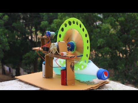 How To Make a Bubble Machine - big bubble machine from cardboard