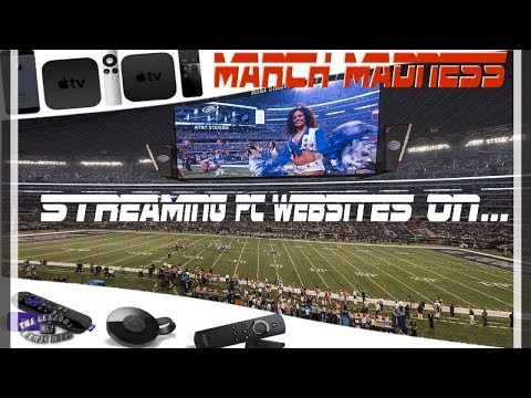 🏈🏀🏈HowTo Watch Sport's PC Streams on an IPhone, Roku, Chromecast, Apple TV, Fire TV & Smart TV