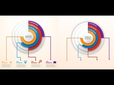 Circle Infographic Photoshop Tutorial