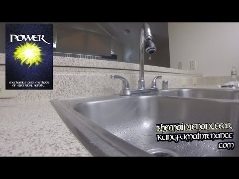 How To Fix Dripping Two Handle Faucet Leaking Water Glacier Bay Seasons Repair Video