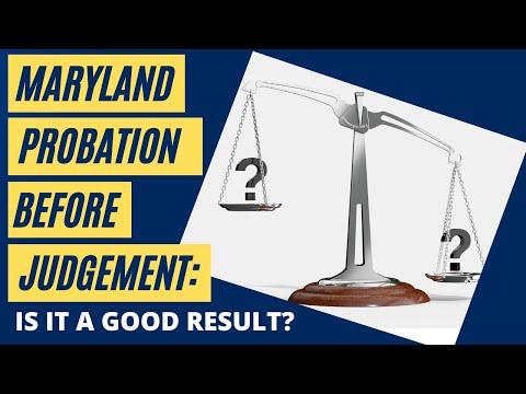 Benefits of Probation Before Judgement