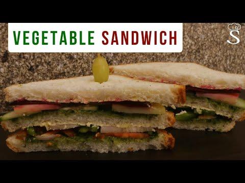Easy Vegetable Sandwich | Kids Lunchbox Recipes | Healthy Sandwich Recipe by Shree's Recipes