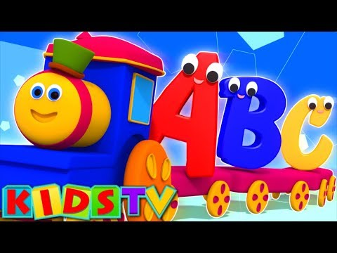 abc songs | kids tv show | nursery rhymes playlist for kids | alphabet adventure | bob the train