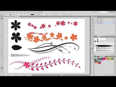 How to create your own brushes in Adobe Illustrator - 01
